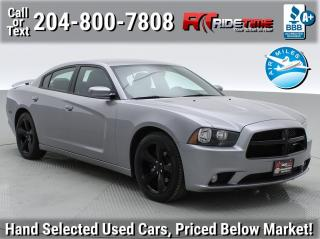 Used 2014 Dodge Charger BLACKTOP for sale in Winnipeg, MB