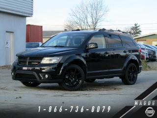 Used 2017 Dodge Journey SXT + AWD + BLACKTOP + 7 PLACES + CAM for sale in Magog, QC