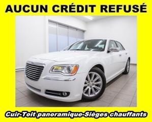 Used 2012 Chrysler 300 LIMITED TOIT PANO SIÈGES CHAUFFANTS CUIR *BAS KM* for sale in Mirabel, QC