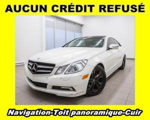 Used 2010 Mercedes-Benz E-Class E350 CUIR TOIT PANORAMIQUE *NAVIGATION* for sale in Mirabel, QC