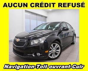 Used 2012 Chevrolet Cruze LTZ TURBO TOIT OUVRANT NAV *CUIR* for sale in Mirabel, QC