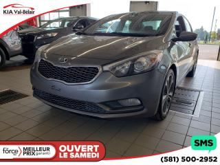 Used 2016 Kia Forte *EX*CAMÉRA*AIR*CRUISE*BLUETOOTH* for sale in Québec, QC
