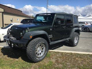 Used 2011 Jeep Wrangler SPORT for sale in Val-D'or, QC