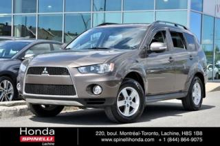 Used 2012 Mitsubishi Outlander LS V6 AWD 7 PASS PROPRE AUTO AC AWD MAGS BLUETOOTH 7 PASS++ for sale in Lachine, QC