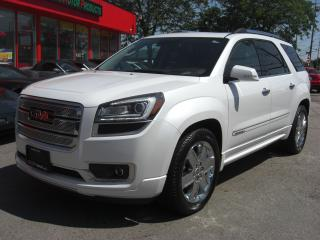 Used 2016 GMC Acadia Denali AWD for sale in London, ON
