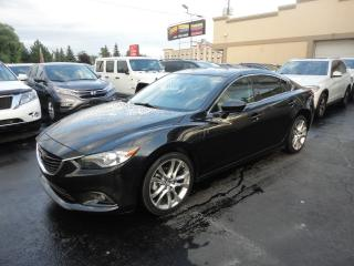 Used 2015 Mazda MAZDA6 GT Cuir Toit Navi Demarreur Camera for sale in Laval, QC