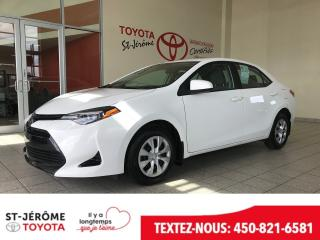 Used 2018 Toyota Corolla * * AIR * GR ÉLEC * for sale in Mirabel, QC