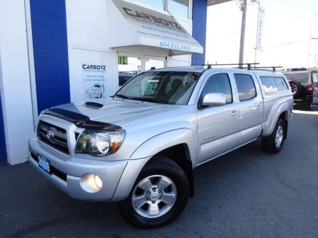 2009 Toyota Tacoma TRD Sport 4x4, Double Cab, Leather, Canopy