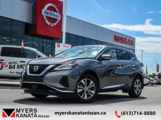 Used 2019 Nissan Murano SV AWD   - Navigation -  Sunroof - $229 B/W for sale in Ottawa, ON