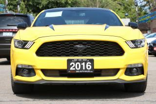 Used 2016 Ford Mustang EcoBoost for sale in Brampton, ON