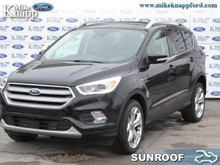 New 2019 Ford Escape Titanium 4WD  - Leather Seats for sale in Welland, ON