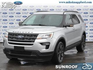 New 2019 Ford Explorer XLT  - Navigation - Sunroof for sale in Welland, ON