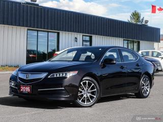 Used 2015 Acura TLX V6 Tech,AWD,NAVI,LDW,FCW,R/V CAM,PWR S/ROOF for sale in Barrie, ON