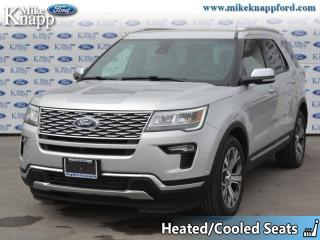 Used 2018 Ford Explorer Platinum  - Sunroof -  Navigation for sale in Welland, ON