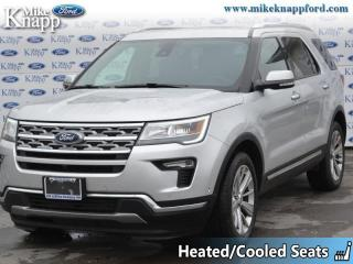 Used 2019 Ford Explorer Limited  - Sunroof -  Navigation for sale in Welland, ON