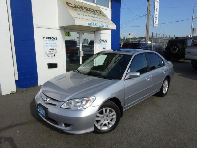 2005 Honda Civic 2005 Honda Civic LX-G Sedan, Auto, Sunroof!