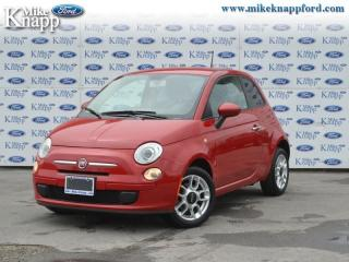 Used 2012 Fiat 500 Pop  -  Cruise Control for sale in Welland, ON