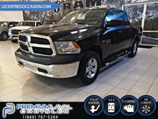 Used 2016 RAM 1500 SXT CREW CAB 4X4*5.7L/MAGS/MARCHE-PIED* for sale in Laval, QC