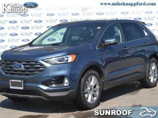 New 2019 Ford Edge Titanium AWD  - Navigation - Sunroof for sale in Welland, ON