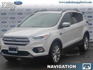 New 2019 Ford Escape SEL 4WD  - Navigation - Heated Seats for sale in Welland, ON