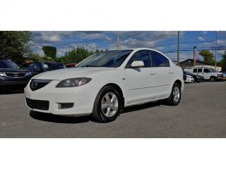 Used 2008 Mazda MAZDA3 Automatique GX   *a/c*mags* for sale in St-Jérôme, QC