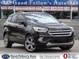 Used 2017 Ford Escape TITANIUM, 2L 4CYL, REARVIEW CAMERA, PANORAMIC ROOF for sale in Toronto, ON