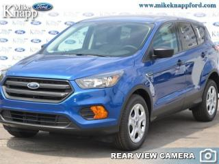 New 2019 Ford Escape S FWD  -  Bluetooth -  SYNC for sale in Welland, ON