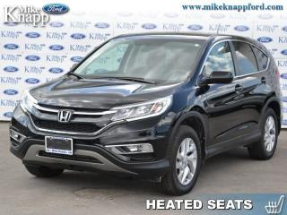 Used 2016 Honda CR-V SE  - All-Wheel Drive -  Bluetooth for sale in Welland, ON