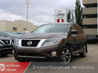 Used 2016 Nissan Pathfinder PLATINUM l AWD l DVD l Cooled Seats for sale in Edmonton, AB