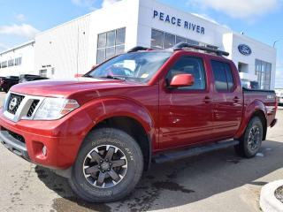 Used 2016 Nissan Frontier Pro-4X for sale in Peace River, AB