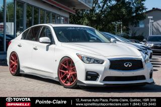 Used 2014 Infiniti Q50 SPORT BAS KM! NAVIGATION! for sale in Pointe-Claire, QC