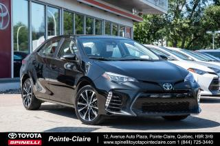 Used 2017 Toyota Corolla XSE GPS, CUIR, MAGS, TOIT for sale in Pointe-Claire, QC