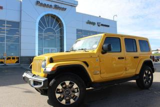 New 2020 Jeep Wrangler Unlimited Sahara for sale in Peace River, AB