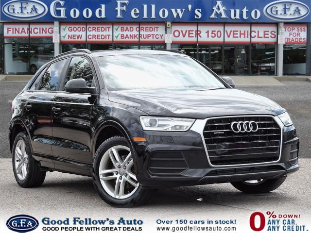 2016 Audi Q3 AWD, 2.0 L, LEATHER SEATS, POWER SEATS, POWER SEAT