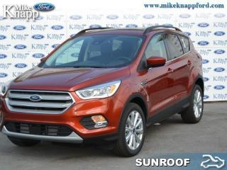 New 2019 Ford Escape SEL 4WD  - Navigation - Towing Package for sale in Welland, ON