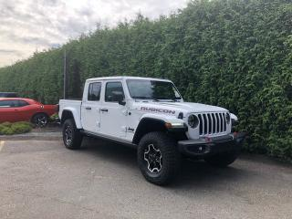 Used 2020 Jeep Gladiator Rubicon 4x4 Crew Cab 137.3 in. WB for sale in Surrey, BC