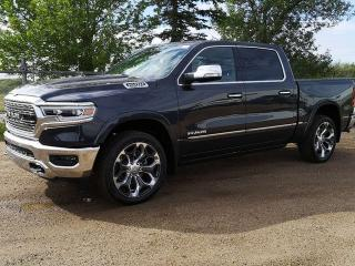 New 2020 RAM 1500 Limited 4x4 Crew Cab / Surround View Camera System for sale in Edmonton, AB