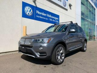 Used 2016 BMW X3 xDrive28i AWD - LEATHER / HEATED SEATS / NAVI for sale in Edmonton, AB
