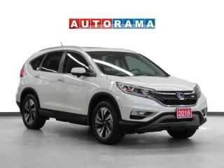 Used 2016 Honda CR-V Touring 4WD Navigation Leather Sunroof Backup Cam for sale in Toronto, ON