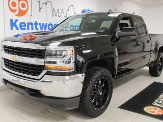 Used 2018 Chevrolet Silverado 1500 LT 4X4 with 3 front seats, carrying up to SIX people! for sale in Edmonton, AB