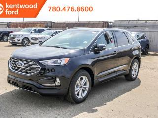 New 2019 Ford Edge SEL 201A AWD 2.0L I4 Ecoboost, Power Heated Seats, Auto Start/Stop, Lane Keeping System, Pre-Collision Assist, Remote Vehicle Start, Reverse Camera and Sensing System for sale in Edmonton, AB