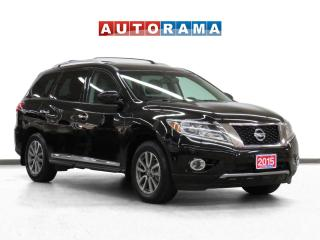 Used 2015 Nissan Pathfinder SL Tech 4WD Navi Leather Sunroof Backup Cam 7Pass for sale in Toronto, ON