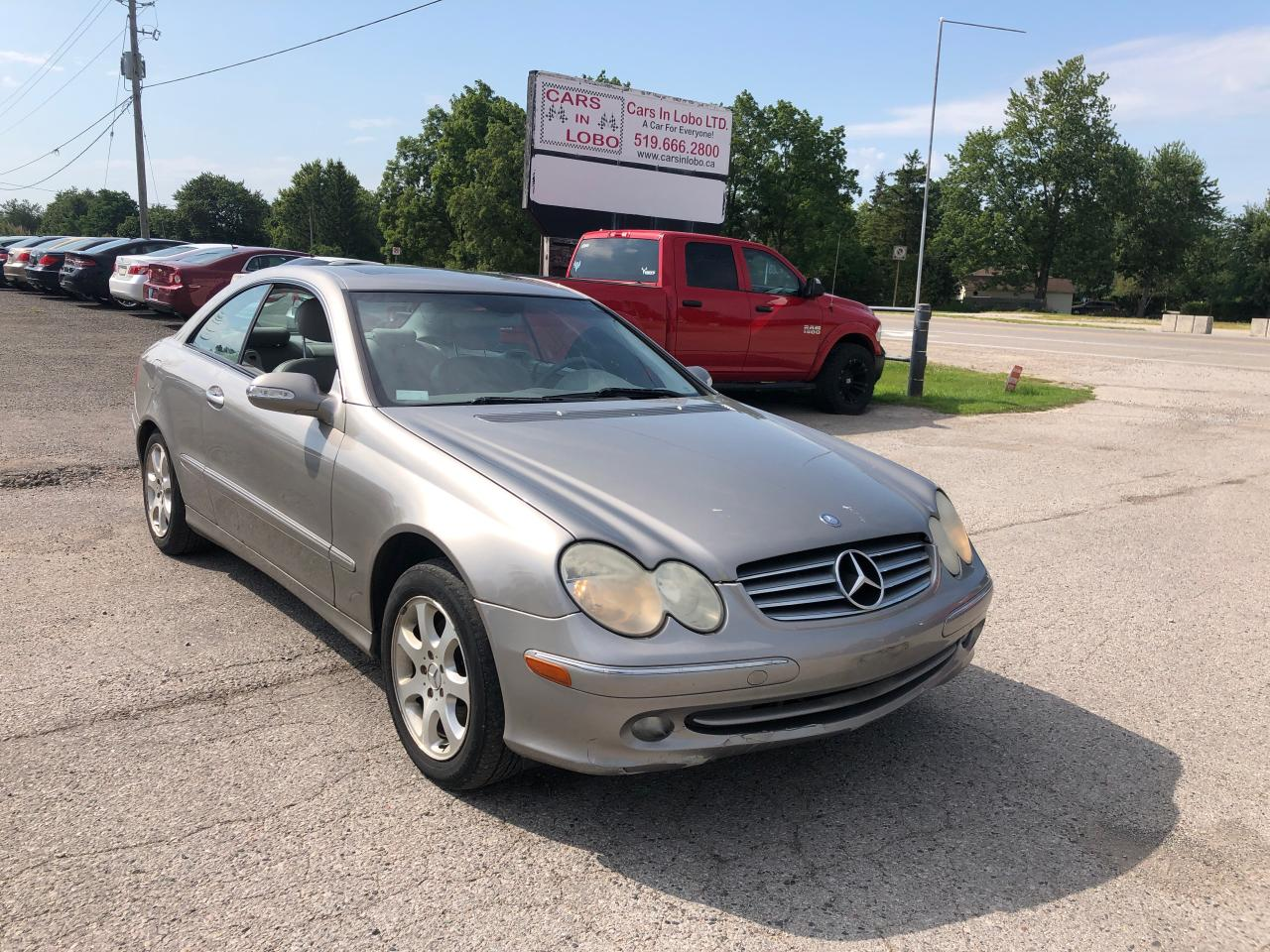 2004 Mercedes-Benz CLK320 3.2L