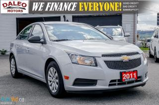 Used 2011 Chevrolet Cruze LS | MANUAL | BLUETOOTH | for sale in Hamilton, ON