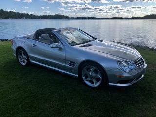 Used 2004 Mercedes-Benz SL-Class 500 SL WITH ONLY 85500 km for sale in Perth, ON