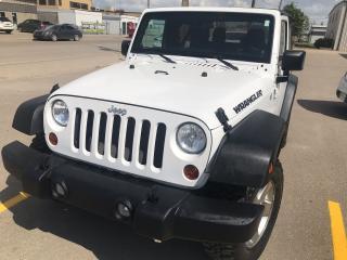 Used 2011 Jeep Wrangler SPORT for sale in Saskatoon, SK