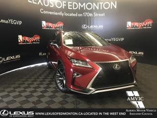 Used 2016 Lexus RX 350 F Sport Series 3 for sale in Edmonton, AB