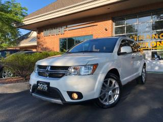 Used 2015 Dodge Journey AWD R-T 7 Passenger DVD Sunroof Rear Cam Certi* for sale in Concord, ON