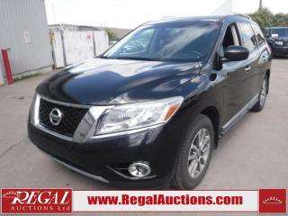 Used 2014 Nissan Pathfinder SL 4D Utility 4WD 3.5L for sale in Calgary, AB
