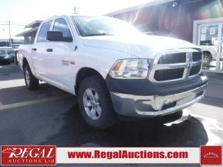 Used 2014 RAM 1500  4D CREW CAB SWB 4WD for sale in Calgary, AB